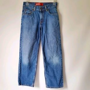 Levi's relaxed fit 550 style jeans 100% cotton